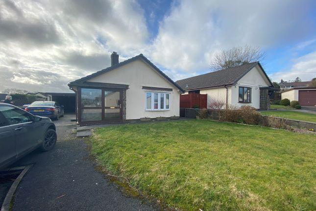 Thumbnail Detached bungalow for sale in Peniel, Carmarthen