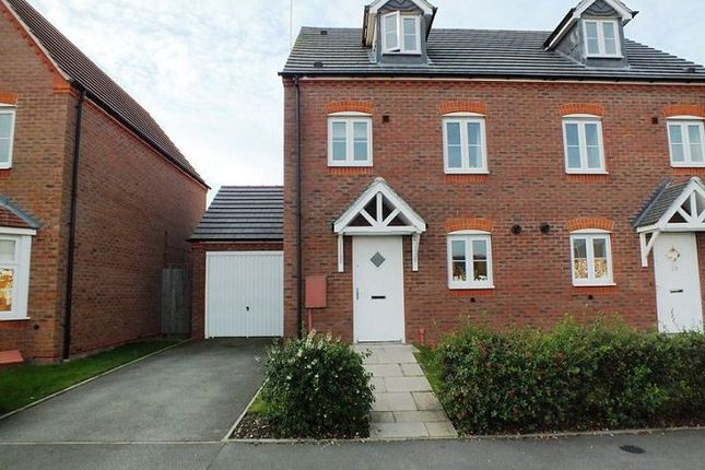 Thumbnail Semi-detached house to rent in Hardwick Field Lane, Chase Meadow Square, Warwick