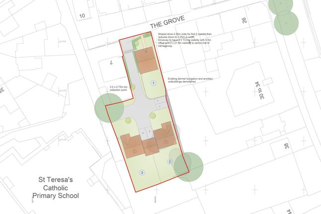 Land for sale in The Grove, Lanesfield, Wolverhampton