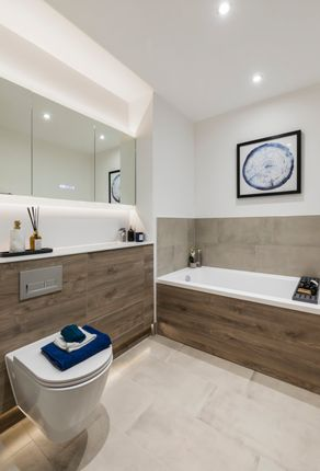Example Bathroom of St. Albans Road, Watford WD24