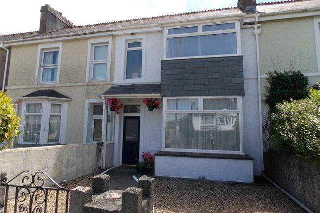 Thumbnail Terraced house for sale in Belgrave Terrace, Liskeard, Cornwall