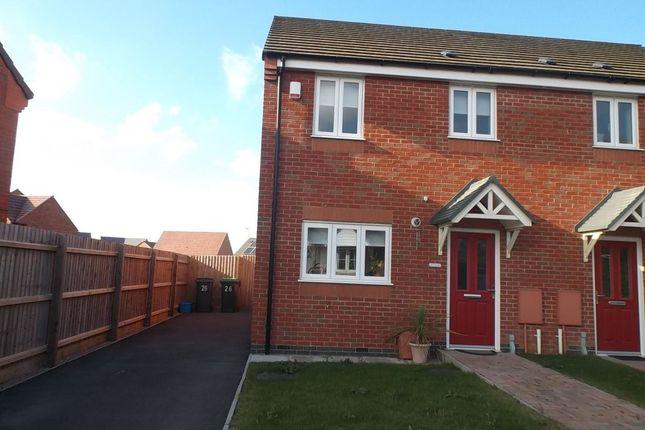 Thumbnail Semi-detached house to rent in Brandon Walk, Sutton-In-Ashfield