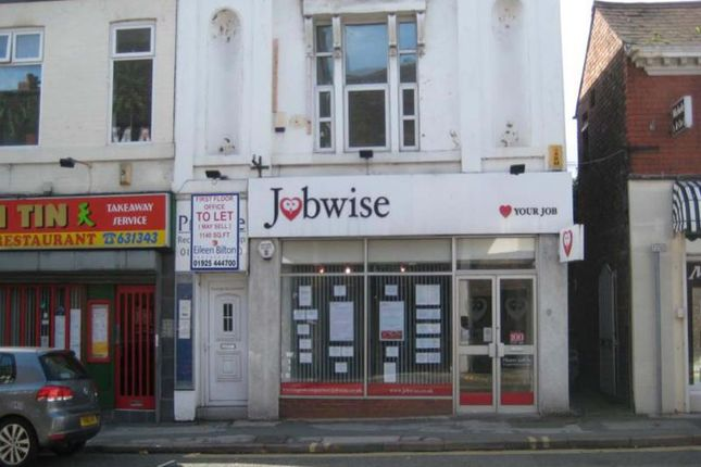 Thumbnail Office for sale in 4B, Bold Street, Warrington, Cheshire