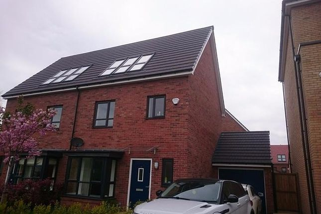Thumbnail Semi-detached house to rent in Meadow Road, Salford