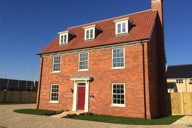 Thumbnail Detached house for sale in Watermill Meadows, Long Lane, Stoke Holy Cross