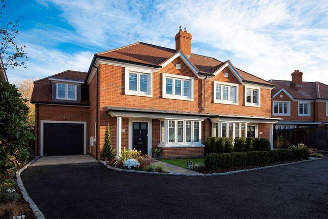 Thumbnail Semi-detached house for sale in Westdene Way, Weybridge