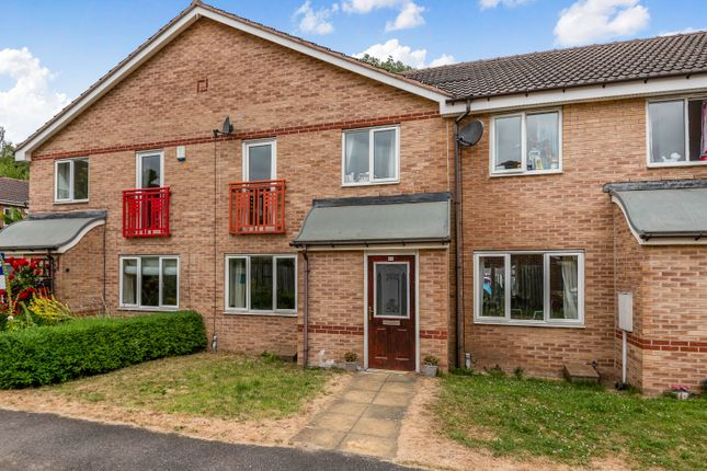Thumbnail Terraced house for sale in Excalibur Way, Chesterfield, Derbyshire