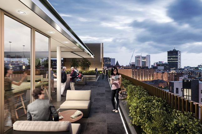 Thumbnail Flat for sale in Oxygen Tower, Manchester