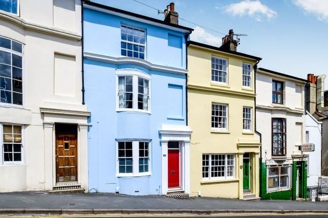 Thumbnail Terraced house for sale in Guildford Road, Brighton, East Sussex