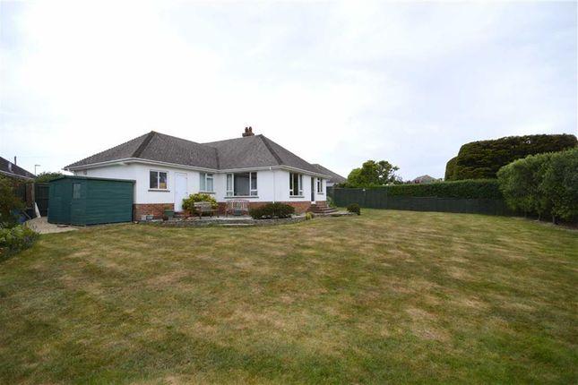 Thumbnail Detached bungalow for sale in Danes Close, Barton On Sea, New Milton