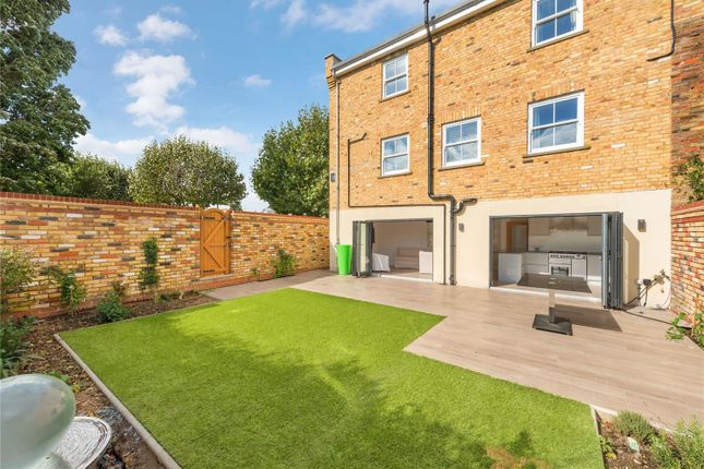 Thumbnail End terrace house for sale in Shellwood Road, London