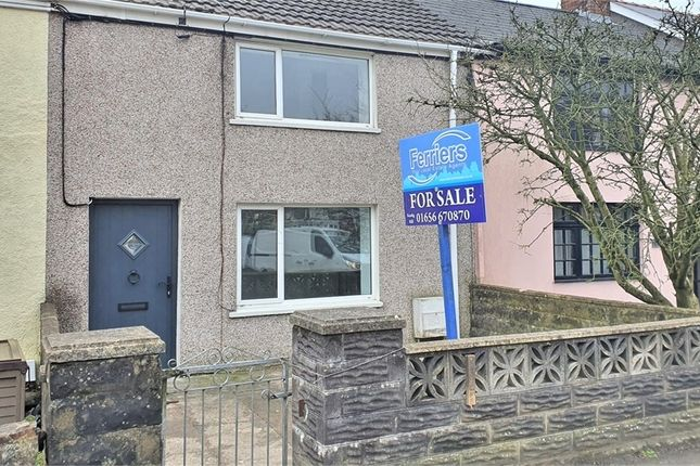 Thumbnail Terraced house for sale in Moriah Place, Kenfig Hill, Bridgend, Mid Glamorgan