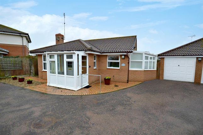 Thumbnail Detached bungalow for sale in Norman Close, Old Felixstowe, Felixstowe