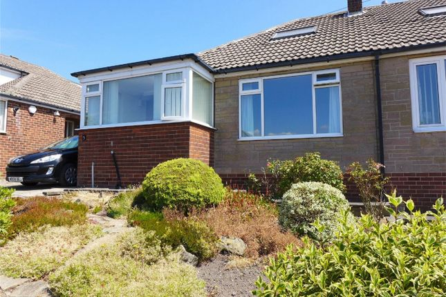 Thumbnail Semi-detached bungalow to rent in Rowley Drive, Fenay Bridge, Huddersfield, West Yorkshire