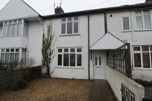 Thumbnail Terraced house to rent in St. Michaels Avenue, Clevedon