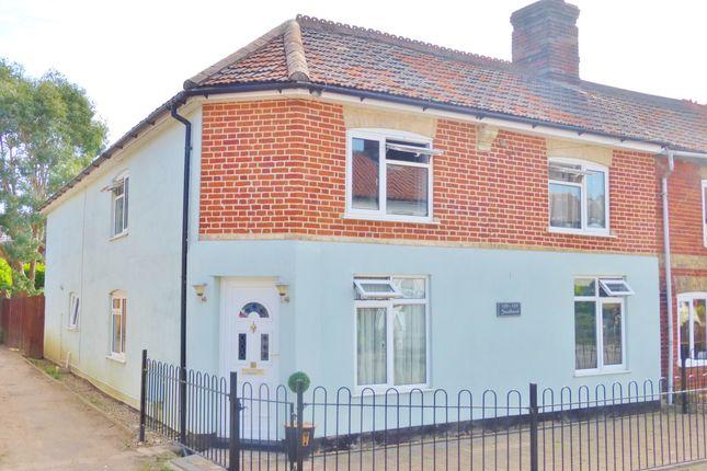 Thumbnail End terrace house for sale in Southend, Dereham