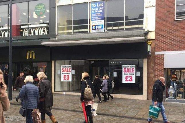 Retail premises to let in 38-40 St Peters Street, St Peters Street, Derby