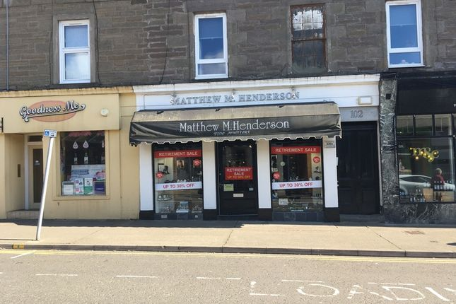 Thumbnail Retail premises to let in Gray Street, Broughty Ferry, Dundee