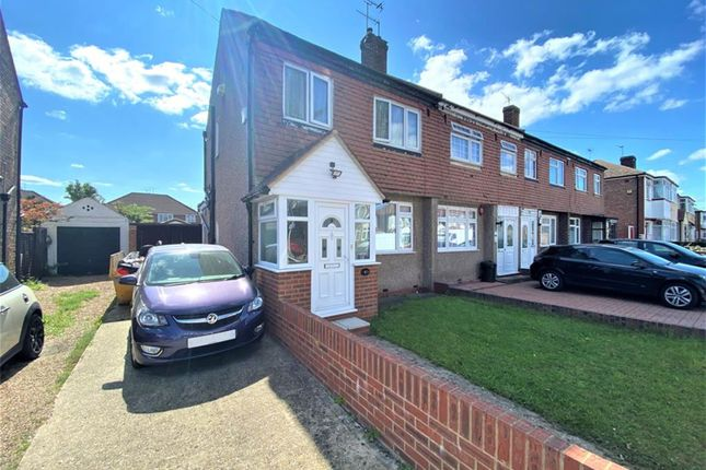 Thumbnail End terrace house for sale in Granville Road, Hayes, Middlesex