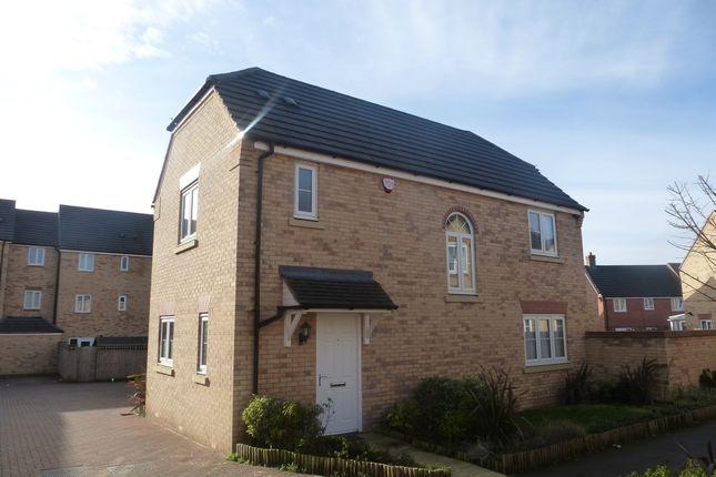 Thumbnail Detached house for sale in Temple Crescent, Oxley Park, Milton Keynes