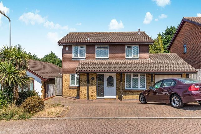 Thumbnail Detached house for sale in Willow Road, Larkfield, Aylesford