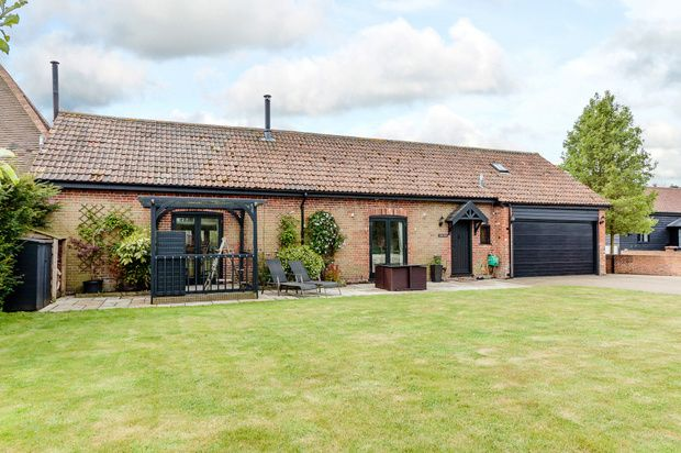 Thumbnail Semi-detached house for sale in Mill Farm, Great Munden
