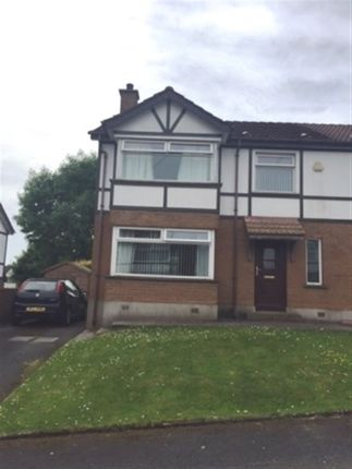 Thumbnail Semi-detached house to rent in Finsbury Drive, Belfast