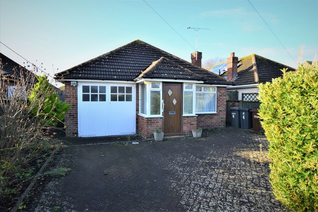 Thumbnail Detached bungalow for sale in Val Prinseps Road, Pevensey Bay