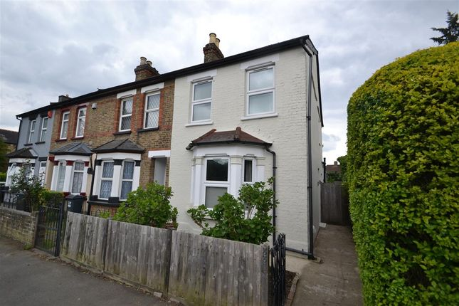 Thumbnail End terrace house for sale in Staines Road, Bedfont, Feltham