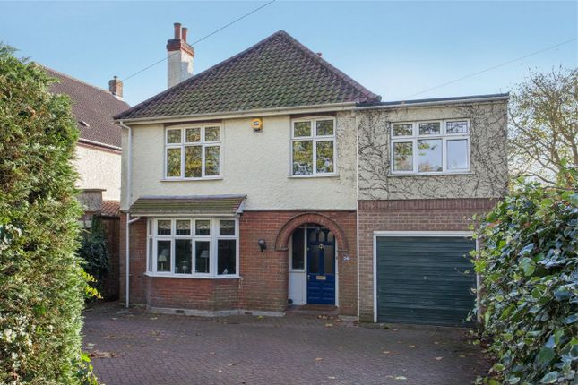 Detached house for sale in Earlham Road, Norwich