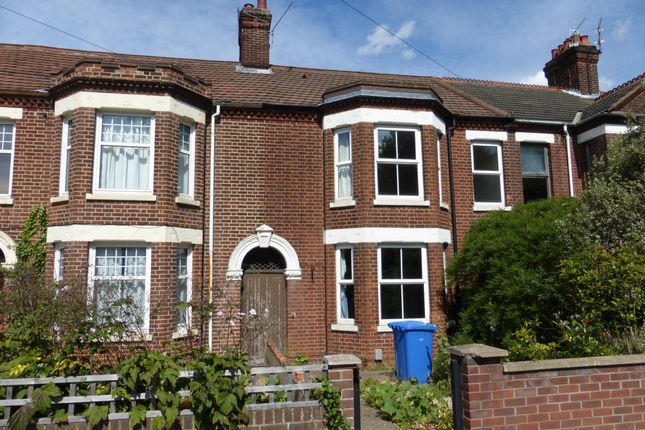 Thumbnail Terraced house to rent in The Gardens, Earlham Road, Norwich
