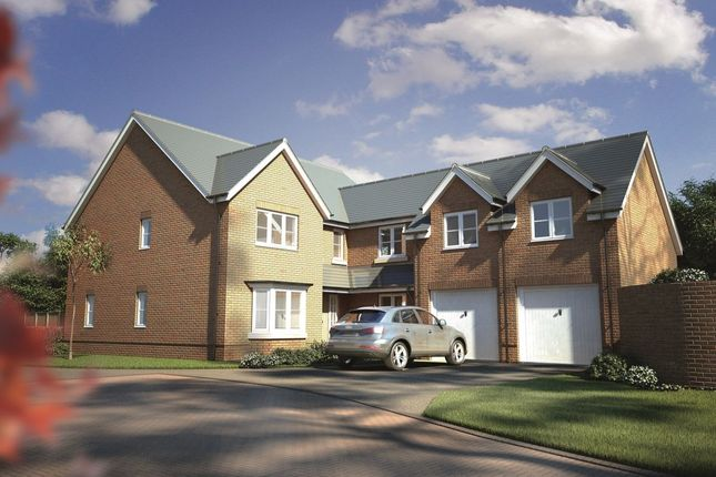 Thumbnail Detached house for sale in Woodlands Drive, Goostrey, Cheshire