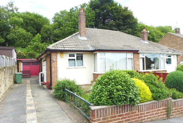 Thumbnail Semi-detached bungalow for sale in Spring Valley Close, Bramley, Leeds