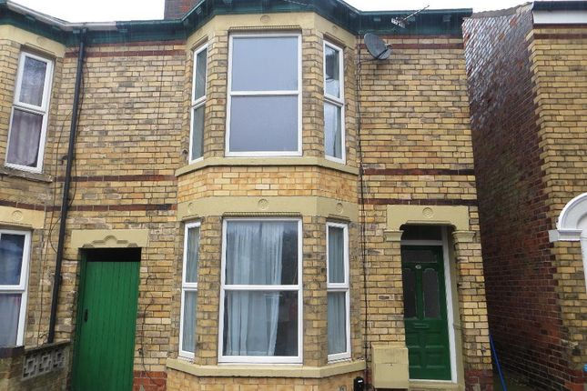 Thumbnail End terrace house for sale in Goddard Avenue, Hull