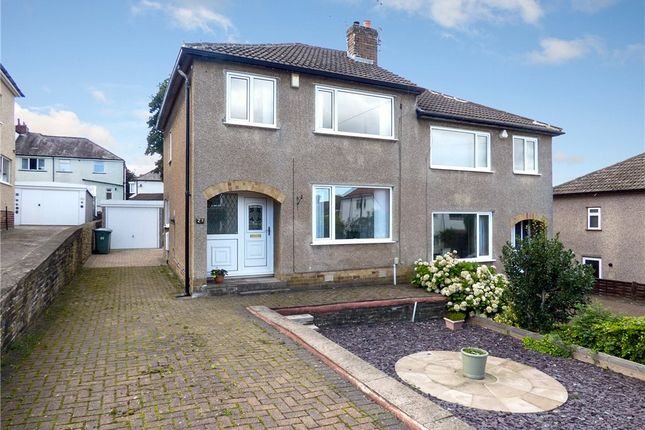 Thumbnail Semi-detached house for sale in Nab Wood Road, Shipley, West Yorkshire