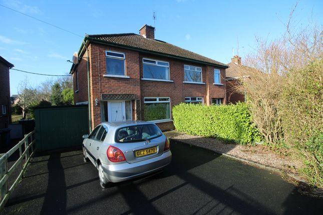 3 Bed Semi Detached House For Sale In Westburn Crescent Bangor Bt20