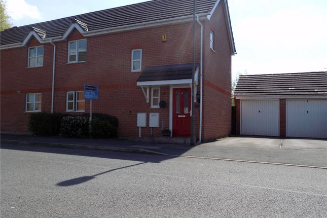 Thumbnail Semi-detached house for sale in Minkley Drive, Langley Mill, Nottingham, Derbyshire