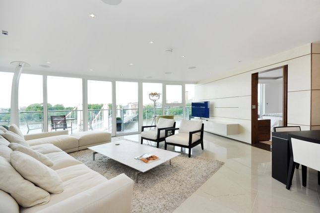 Thumbnail Flat to rent in Centurion Building, Chelsea Bridge Wharf, Queenstown Road, London