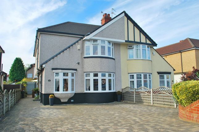 Thumbnail Semi-detached house for sale in Bellegrove Road, Welling, Kent