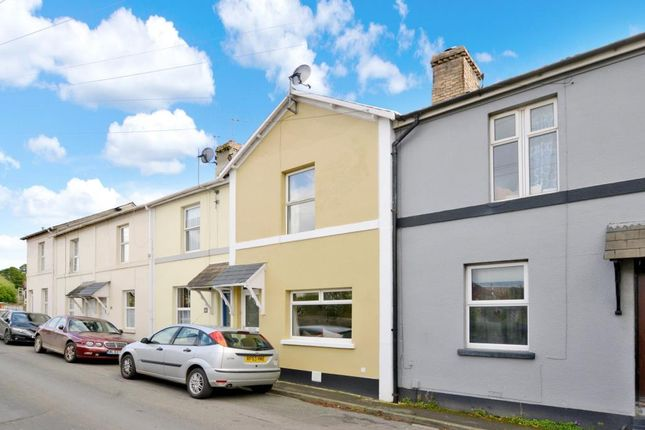 Thumbnail Terraced house for sale in Mile End Road, Newton Abbot, Devon