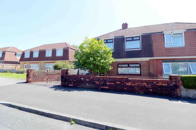 Thumbnail Semi-detached house for sale in Grenfell Avenue, Swansea