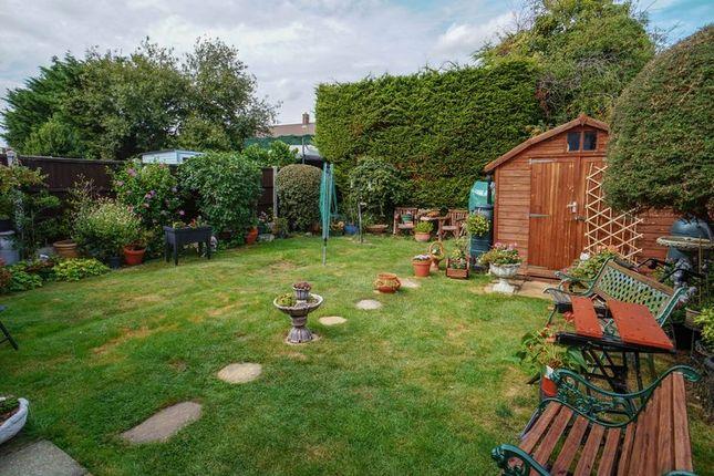Garden of Woodleigh Avenue, Leigh-On-Sea SS9