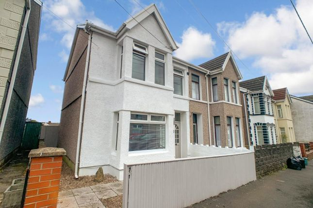 Thumbnail Semi-detached house for sale in Brighton Road, Gorseinon, Swansea