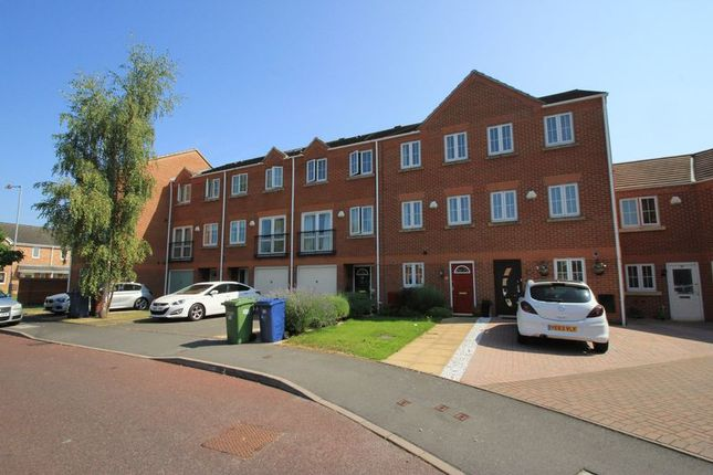 Thumbnail Town house to rent in Eaton Drive, Rugeley