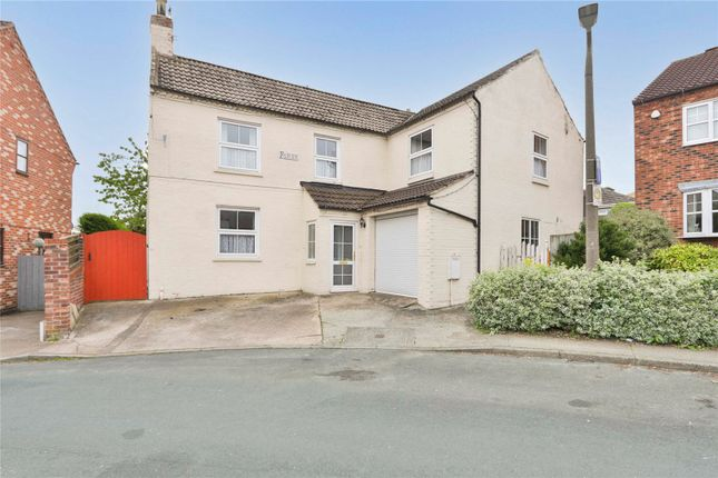 Thumbnail Detached house for sale in Fairview, Beck Lane, Keyingham, Hull