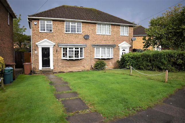 Semi-detached house for sale in Wigmore Road, Gillingham