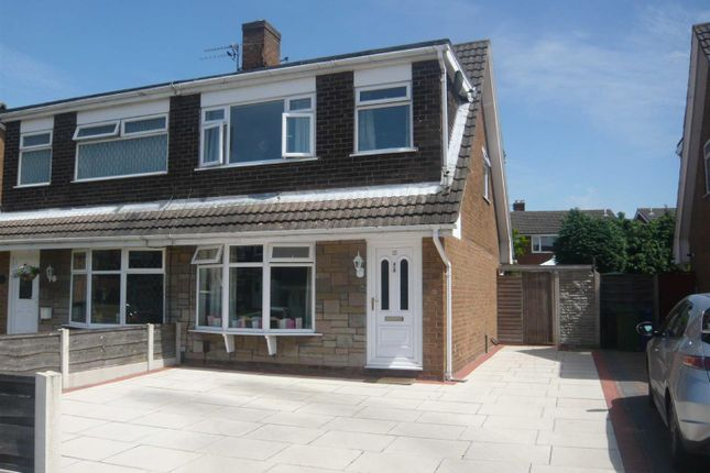 Thumbnail Semi-detached house to rent in Dunster Drive, Urmston, Manchester