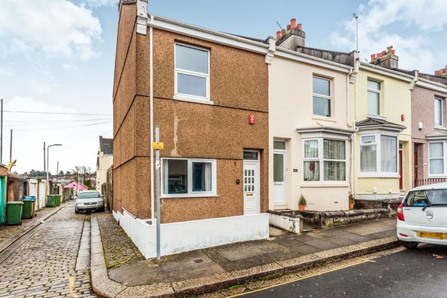 Thumbnail End terrace house for sale in Victory Street, Keyham, Plymouth