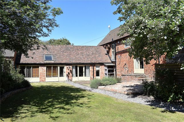 Thumbnail Barn conversion for sale in Hindlip Lane, Hindlip, Worcester