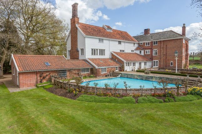 Thumbnail Detached house for sale in Low Road, Tasburgh, Norwich